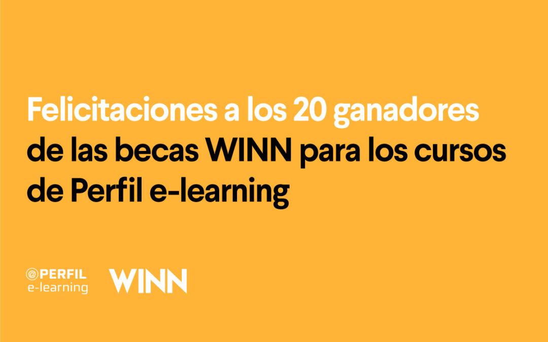 20 nuevas #BecasWINN para Perfil E-Learning
