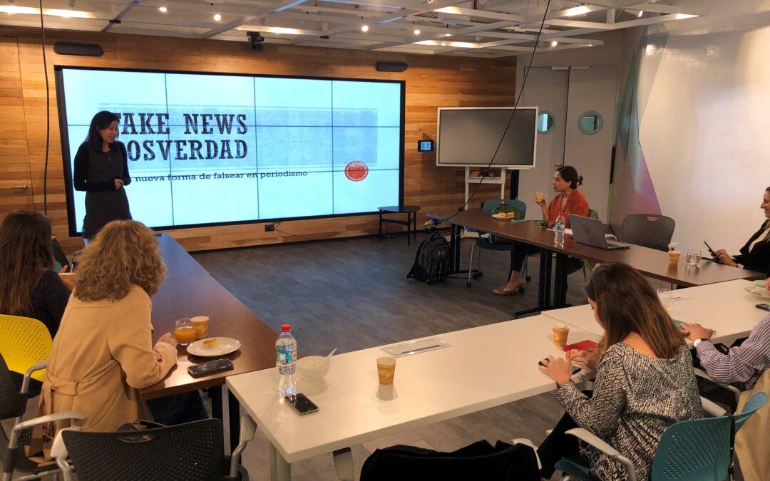 2do conversatorio WINN en Santiago: Fake News, peligros y desafíos