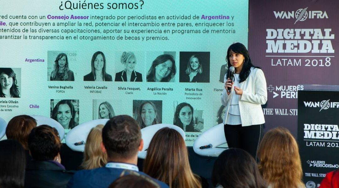 WINN, una red para el reconocimiento de mujeres periodistas en el entorno digital